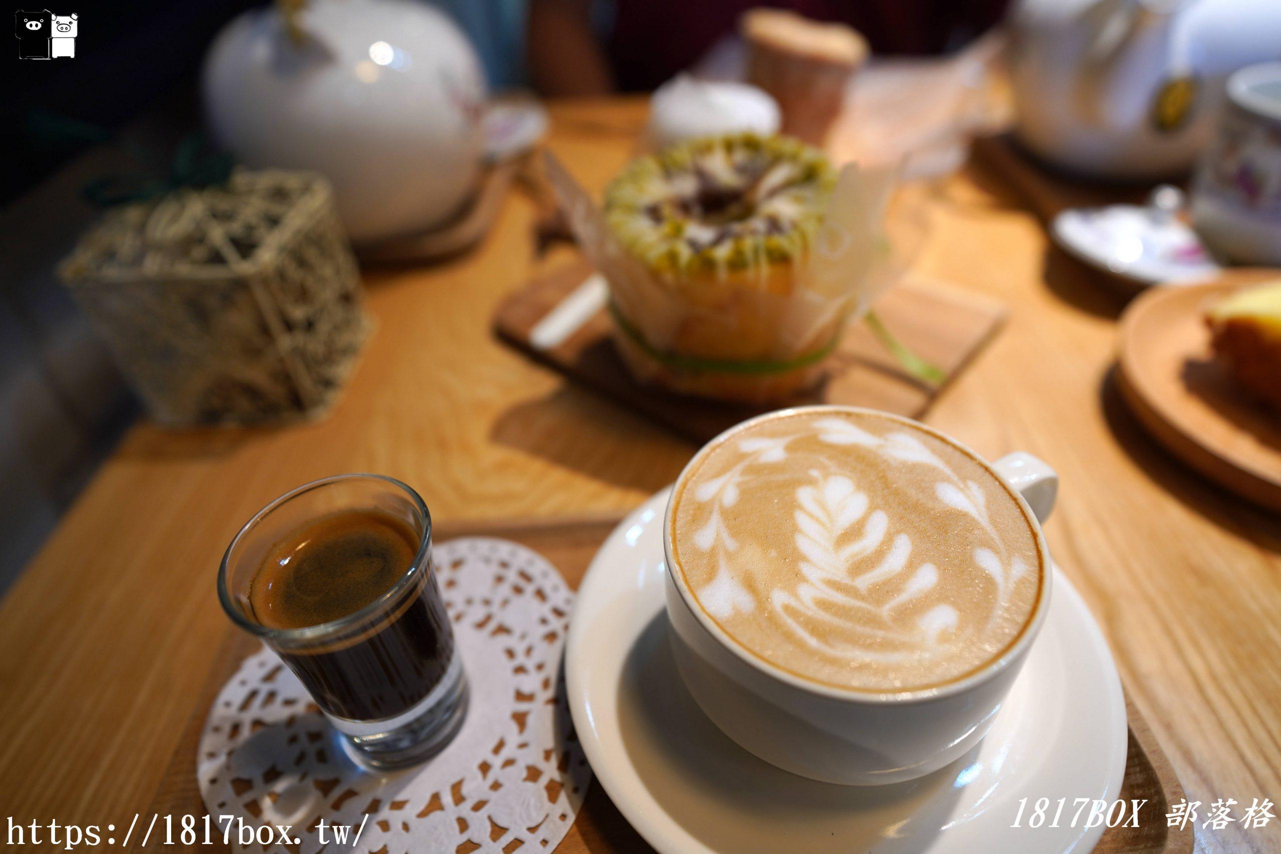 【屏東市】窗花手工甜點咖啡。公主般的浪漫下午茶 @1817BOX部落格