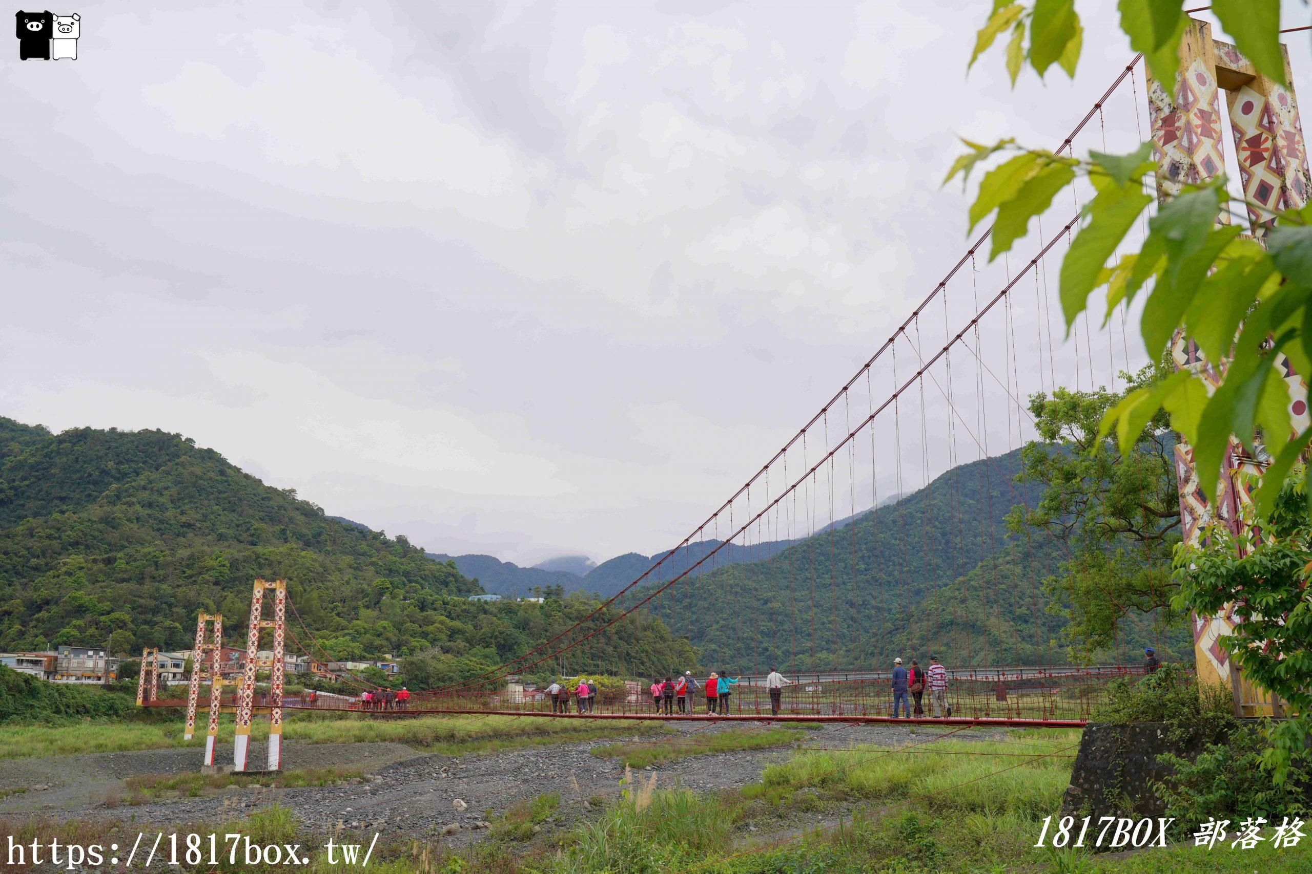 【宜蘭。大同】寒溪吊橋。宜蘭縣最長、最美的鋼索吊橋 @1817BOX部落格