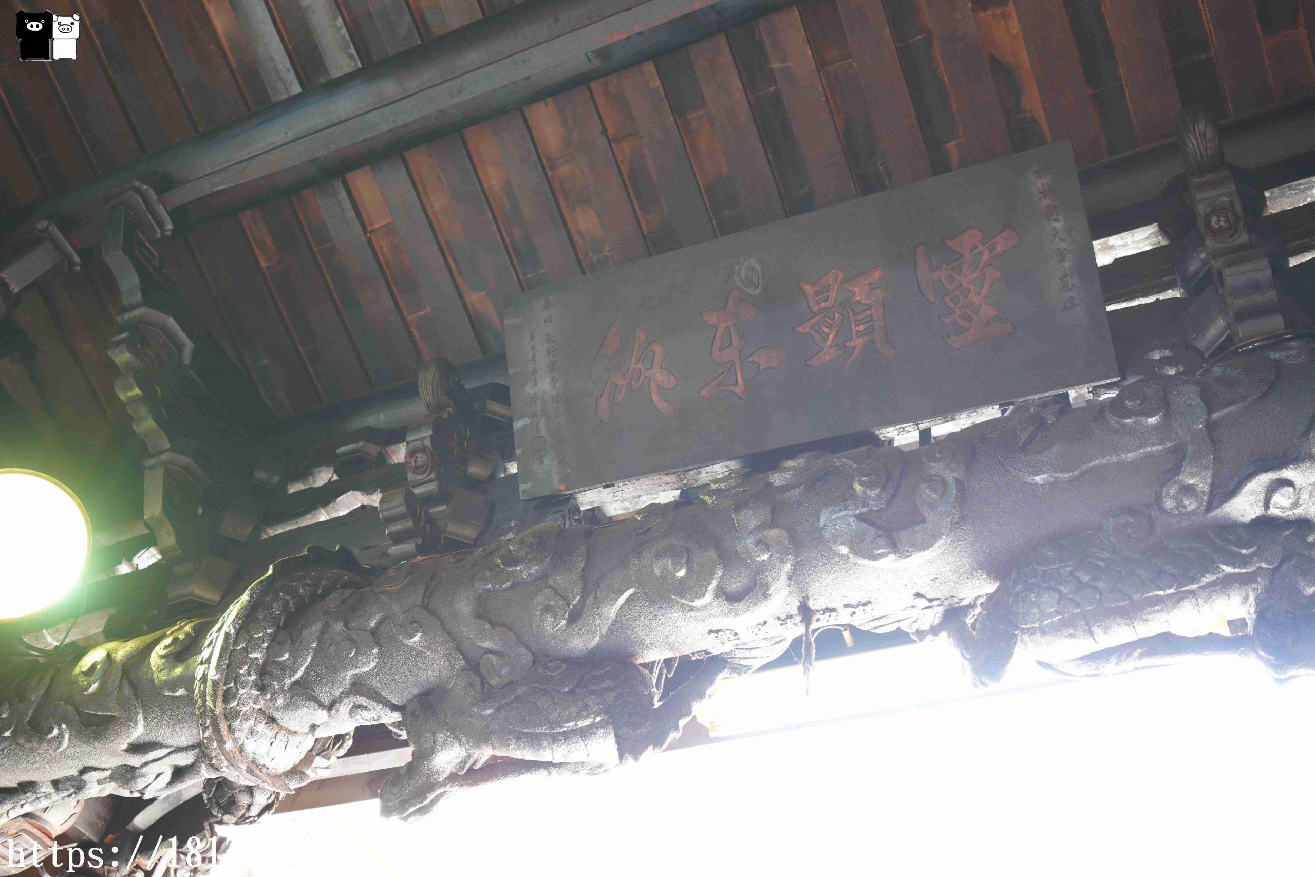 【台中。梧棲】朝元宮。開基媽。為台灣最早時期的媽祖神像之一 @1817BOX部落格