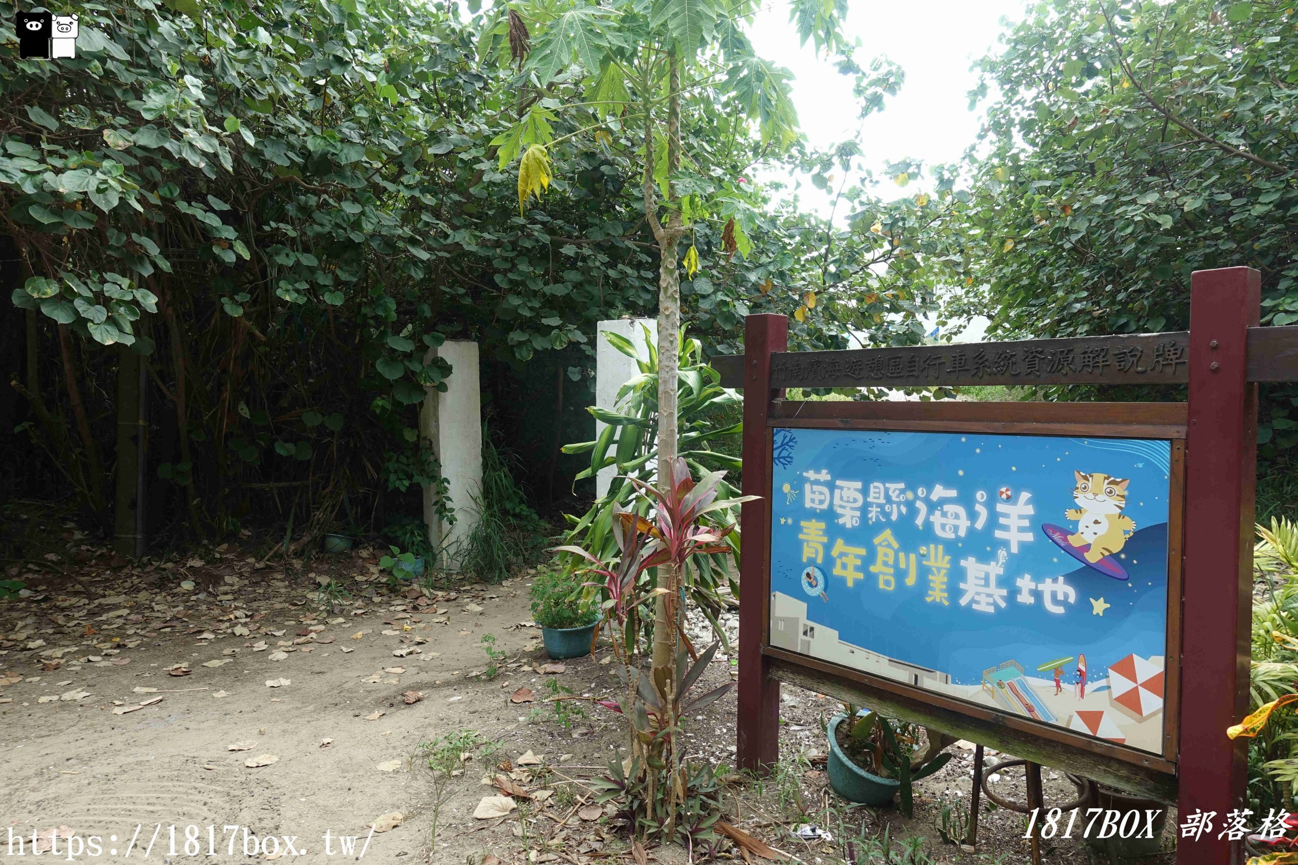 【苗栗。竹南】竹南鎮濱海森林遊憩區。假日之森。晴天也能拍出天空之鏡 @1817BOX部落格