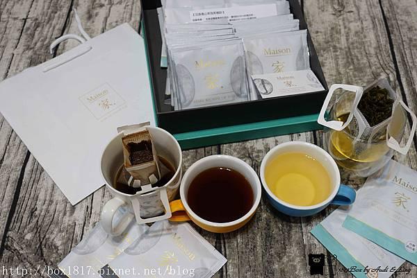 【宅配】Maison 家。台灣高山茶。台灣烏龍茶。耳掛咖啡。耶加雪非。綜合耳掛禮盒。送禮推薦 @1817BOX部落格