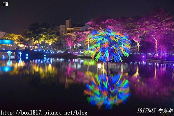 【台南。鹽水】2019月津港燈節。三大展場、三個月亮 。 一起「隨光。呼吸」 @1817BOX部落格