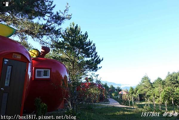 【台中。和平】福壽山農場2019最新打卡點。超萌「蘋果屋」內部大公開。露營區超大蘋果。全新露營體驗 @1817BOX部落格