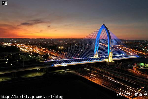 【台中。西屯】台中最新打卡地標。科湳愛琴橋。絕美180度景色。日夜皆美 @1817BOX部落格